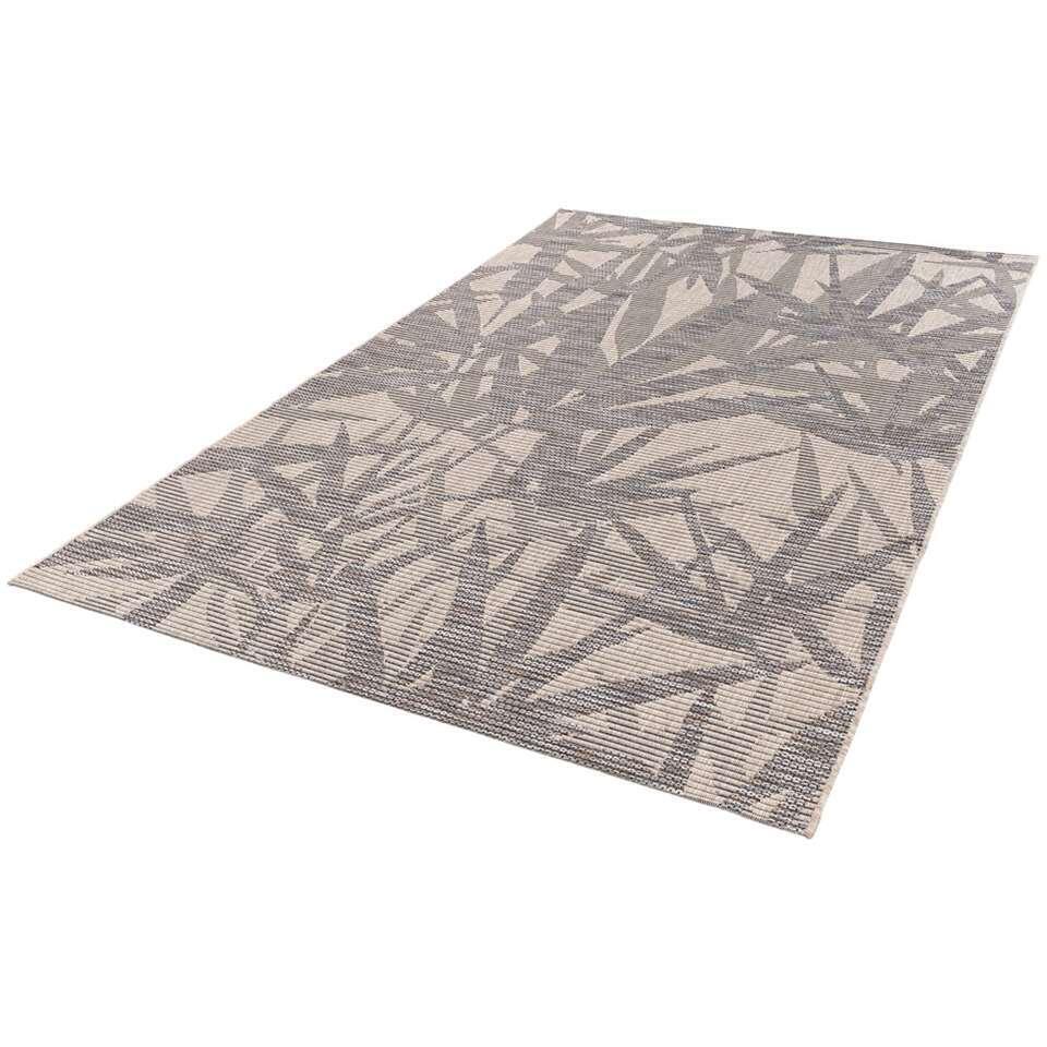Vloerkleed Neiva - zandkleur/grijs - 160x230 cm - Leen Bakker