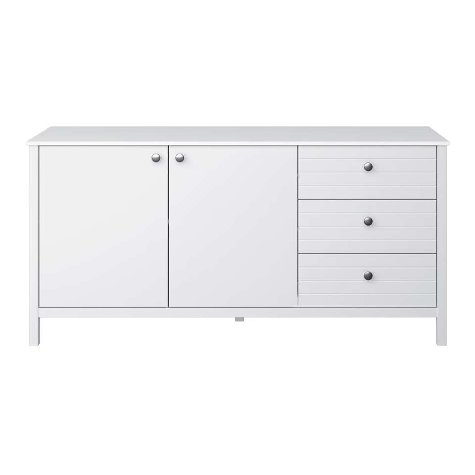 Dressoir New Jersey - wit - 73x150x45 cm