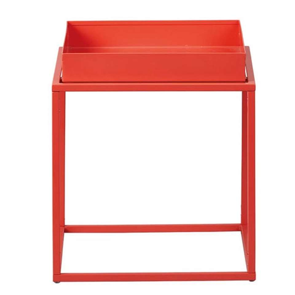 Table d'appoint Club NY - orange - 40x35x35 cm