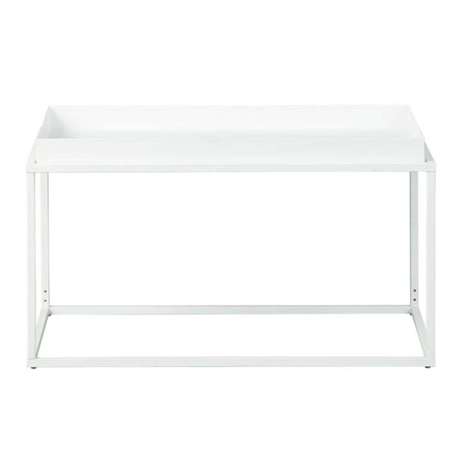 Salontafel Club NY - wit - 45x80x45 cm