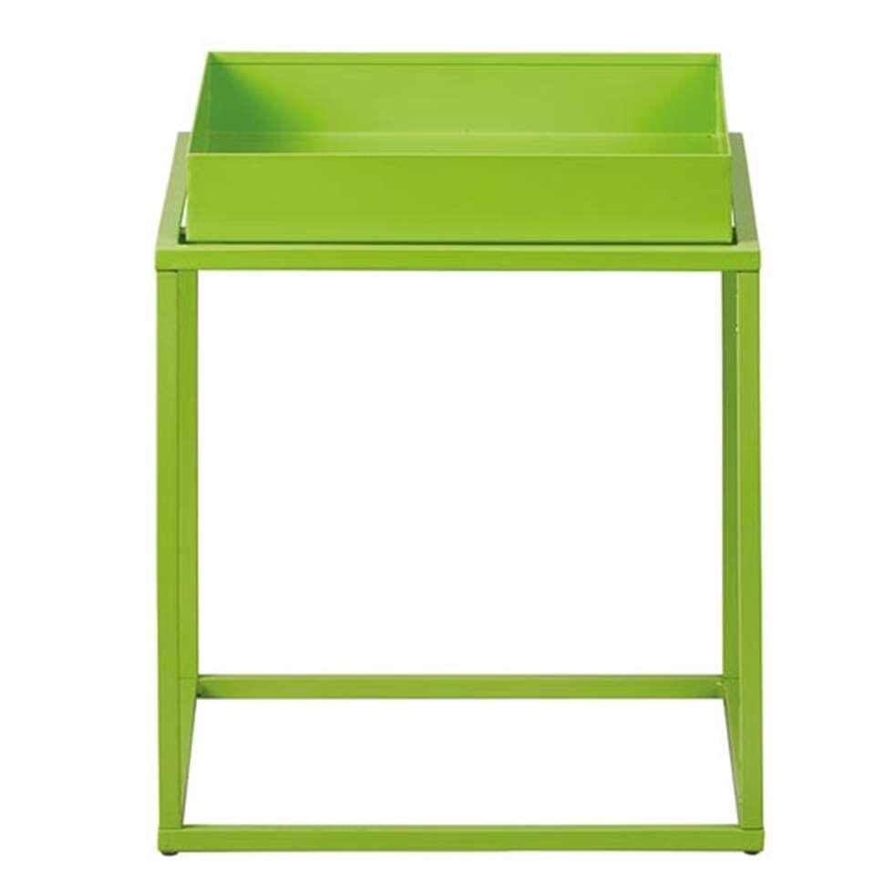 Bijzettafel Club NY - groen - 40x35x35 cm