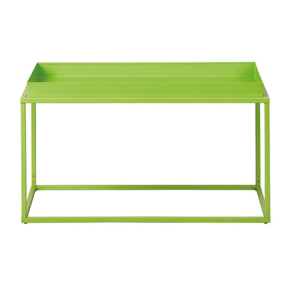 Salontafel Club NY - groen - 45x80x45 cm - Leen Bakker