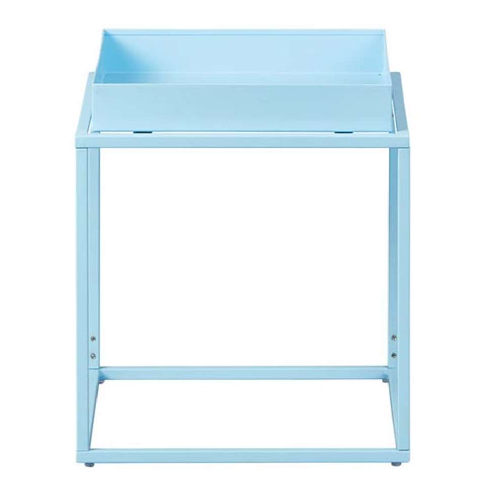 Table d'appoint Club NY - bleue - 40x35x35 cm