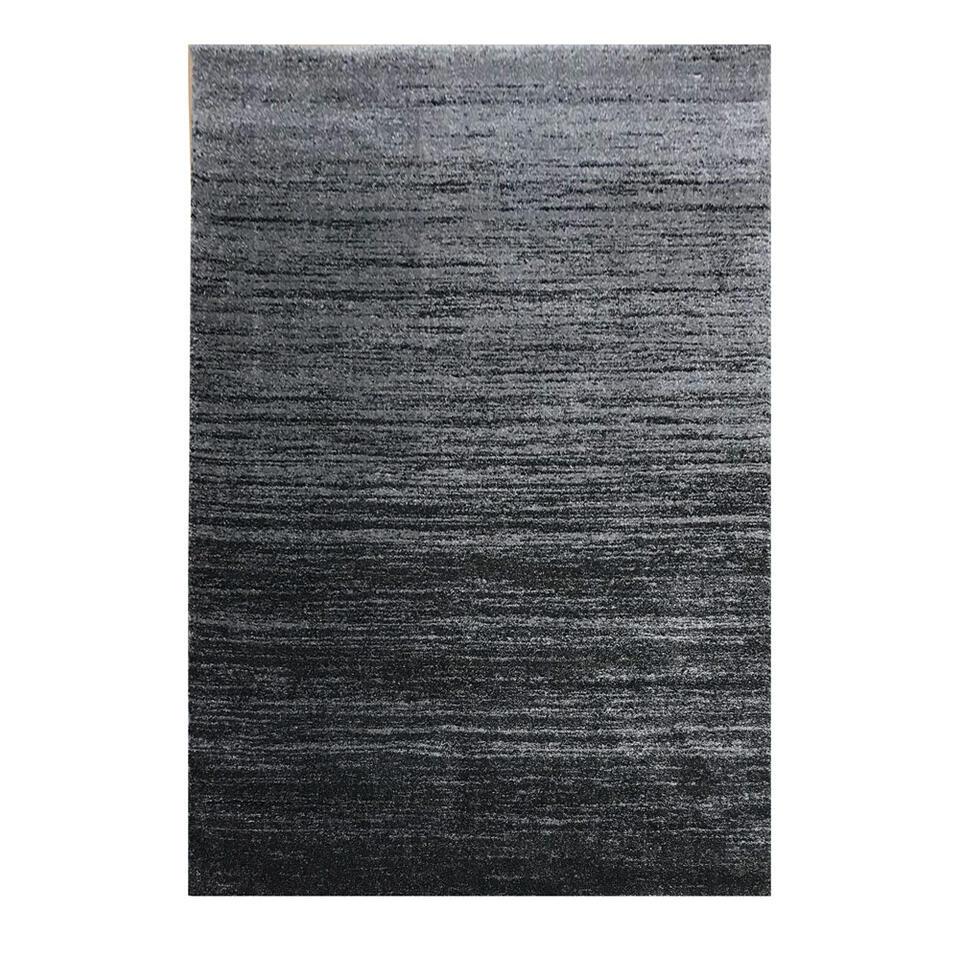 Vloerkleed Sapri - donkergrijs - 160x230 cm