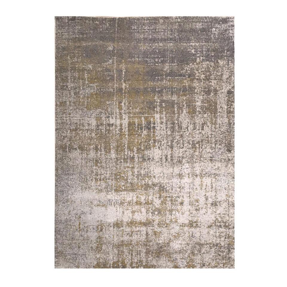 Vloerkleed Udine - grijs - 160x230 cm