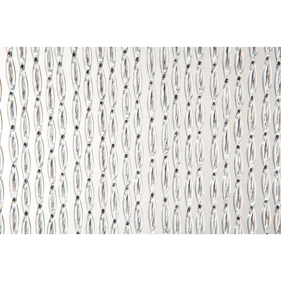 2LIF deurgordijn Madrid - zwart - 93x230 cm - Leen Bakker