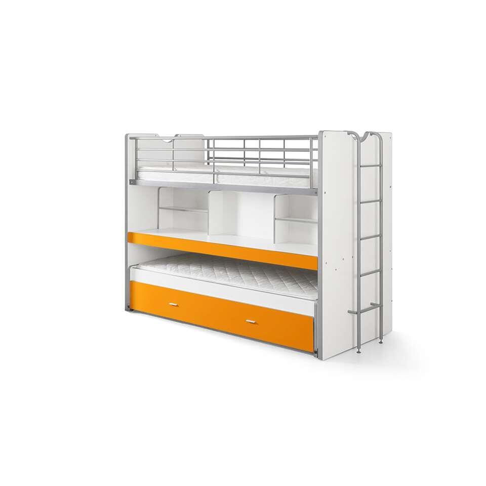Vipack hoogslaper Bonny - oranje - 221,5x101,5x161 cm - Leen Bakker