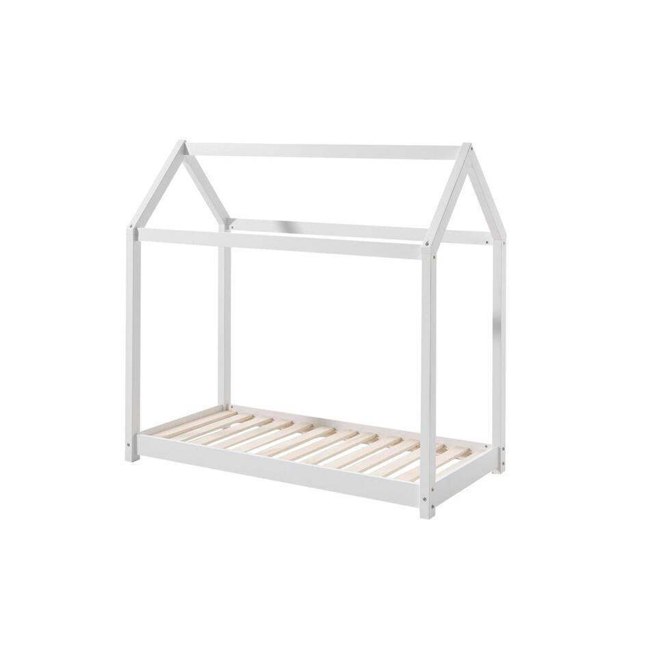 Vipack bed Cabane – wit – 70×140 cm – Leen Bakker