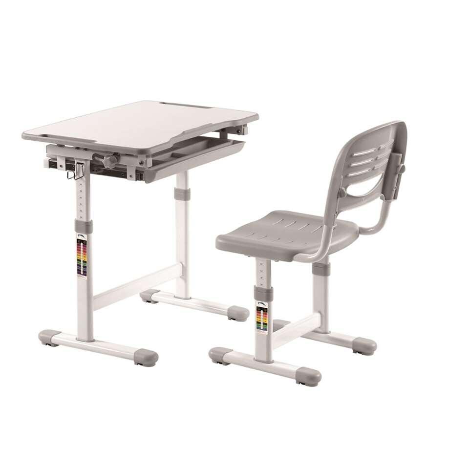 Vipack bureau Comfortline - grijs - 37x55x47 cm
