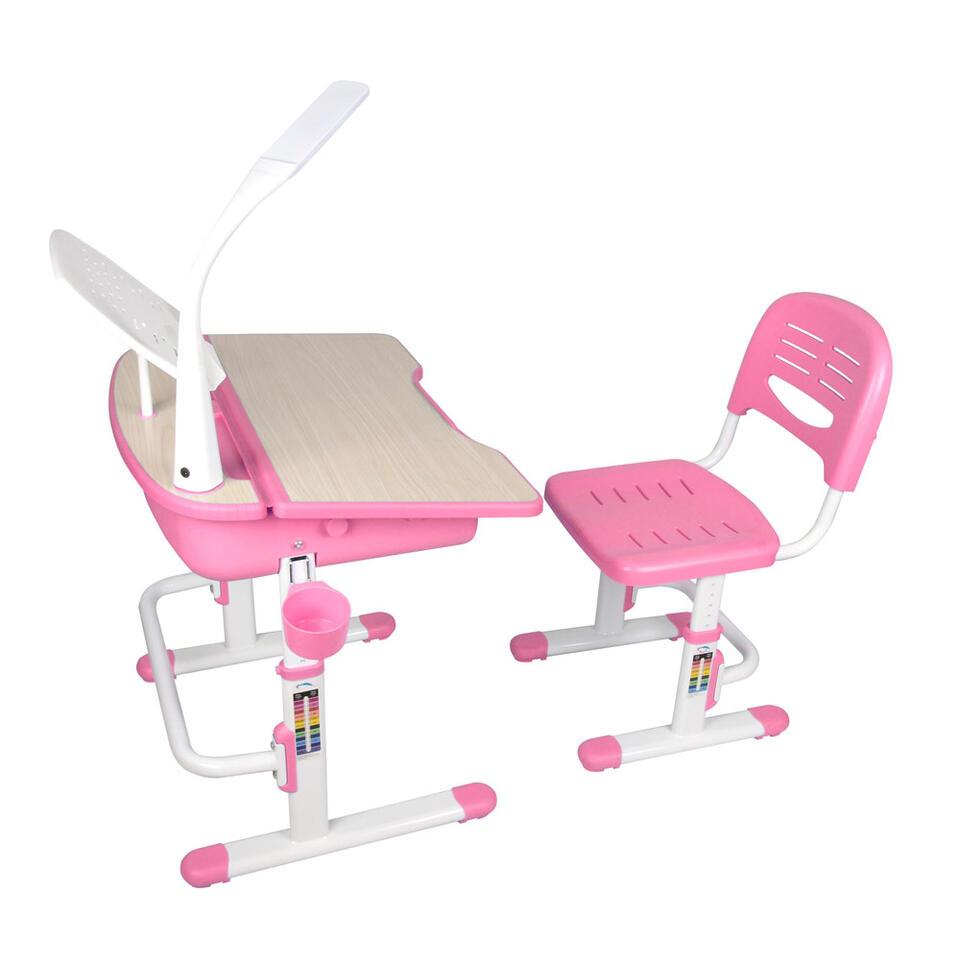Vipack bureau Comfortline - roze - 70x54,5x51 cm