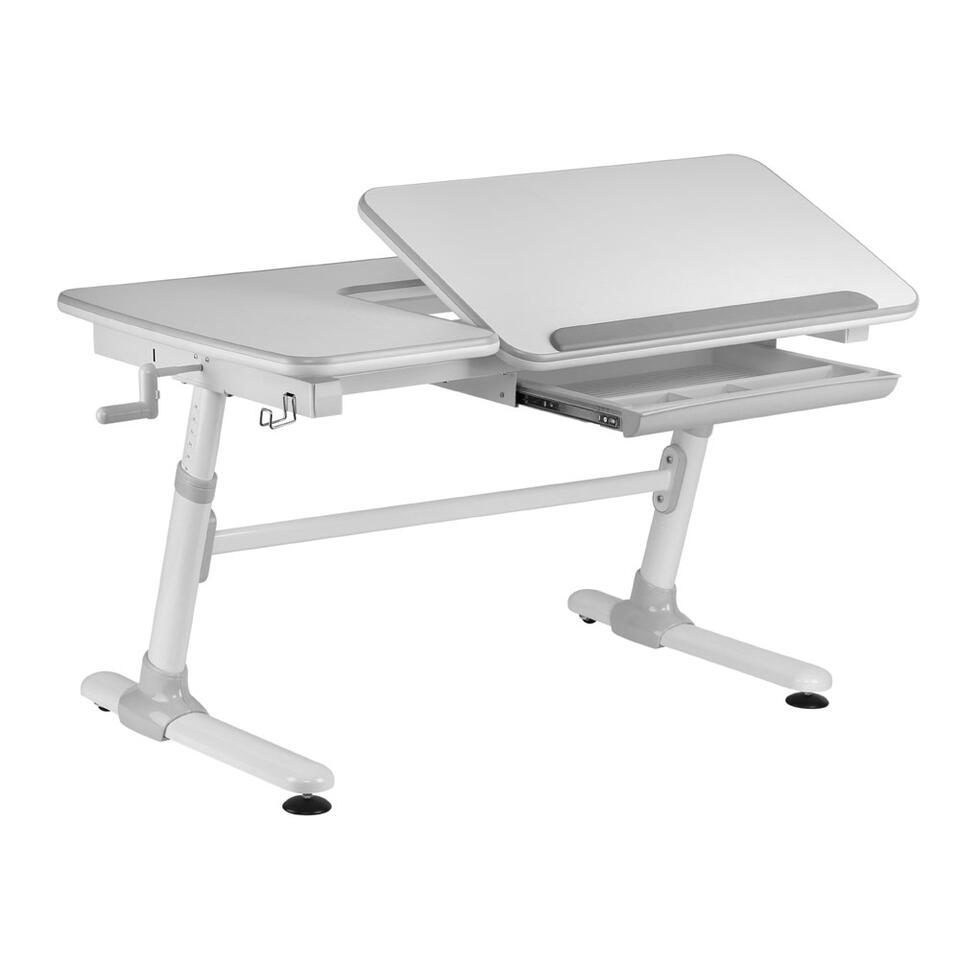 Vipack bureau Comfortline - grijs - 119x73x58 cm