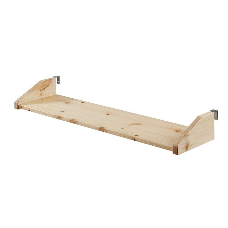 Vipack legplank Pino - naturel - 79x21x9 cm - Leen Bakker