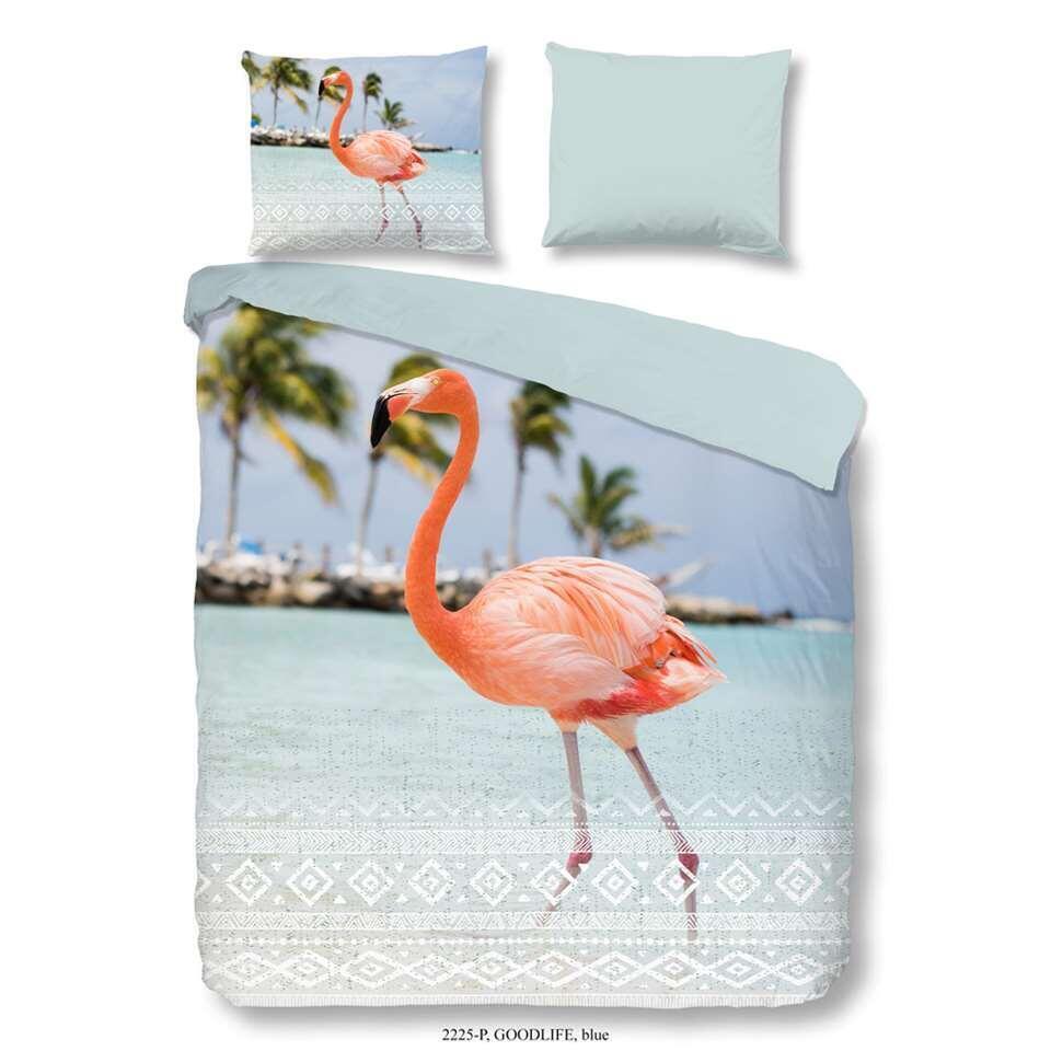 Good Morning dekbedovertrek Goodlife - blauw - 240x200/220 cm