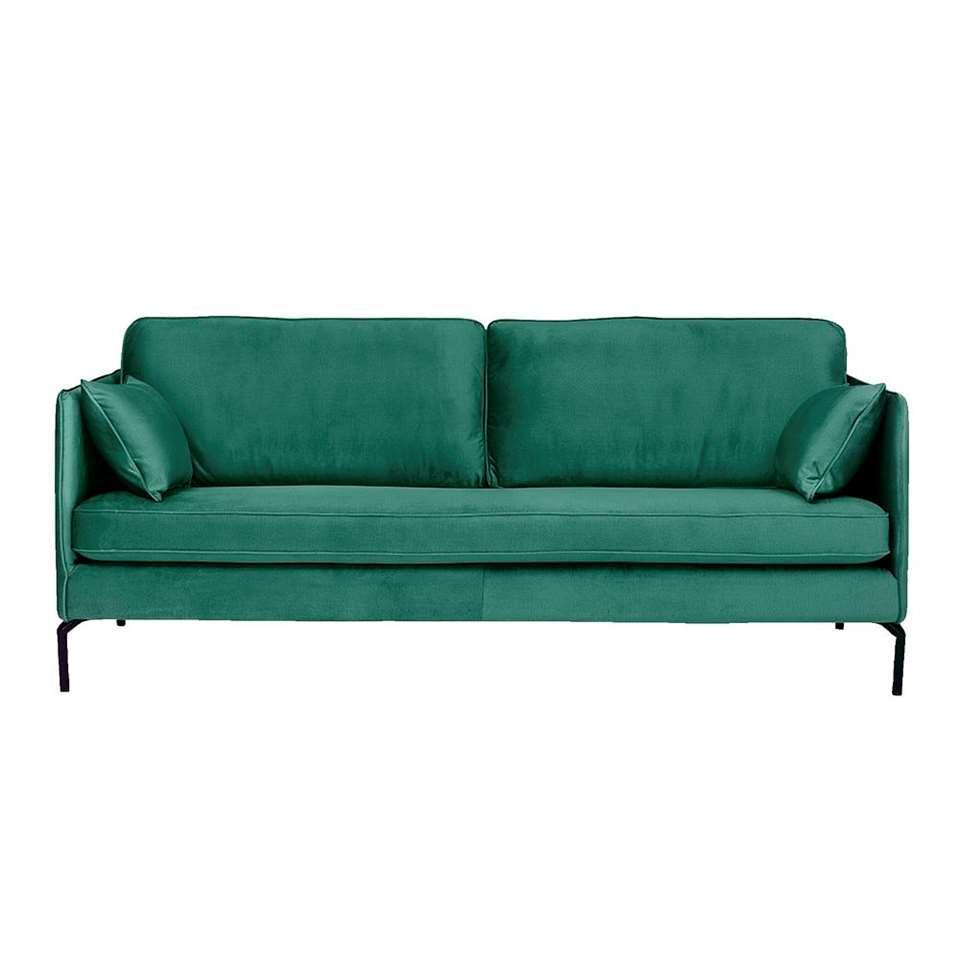 Bank Harlow 4-zits - groen
