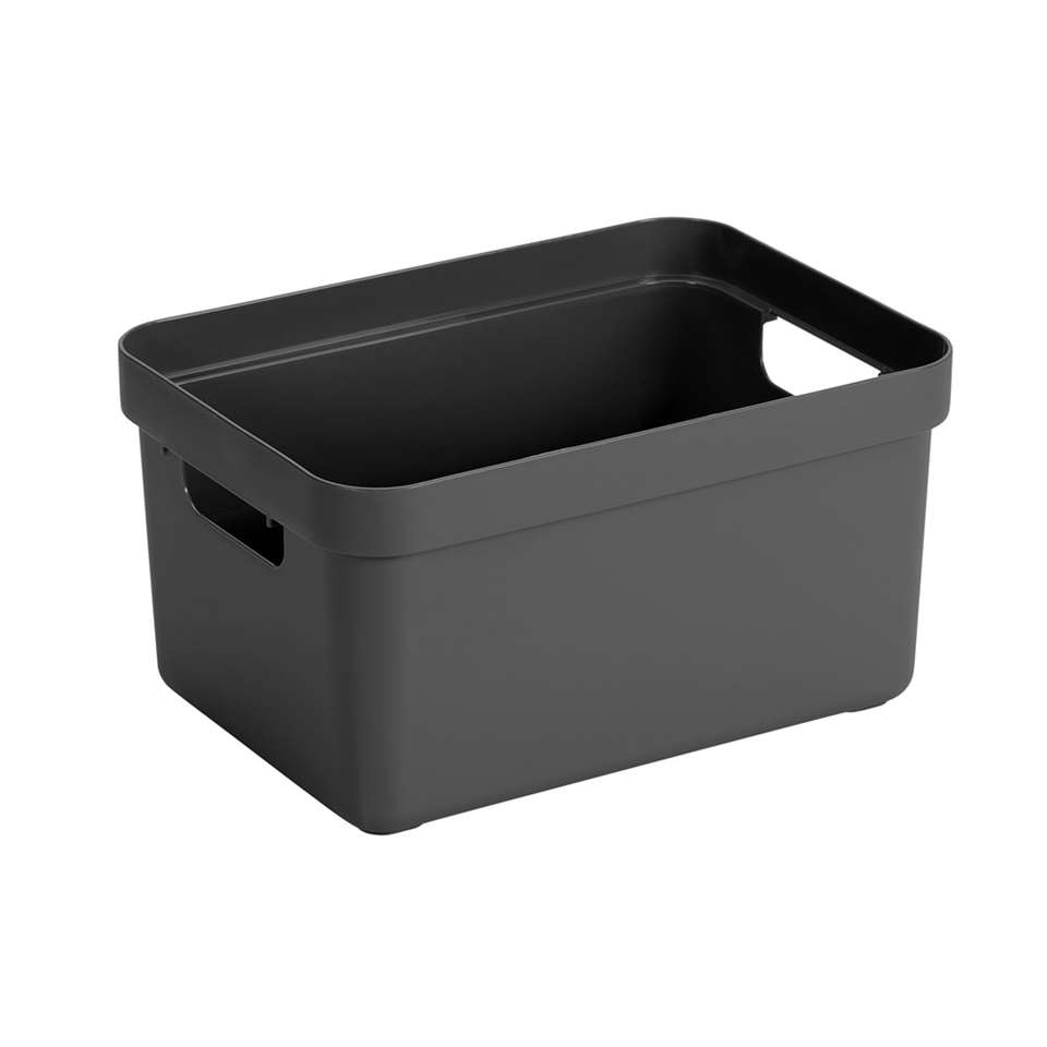 Sigma home box 13 liter - antraciet - 18,3x25,3x35,2 cm