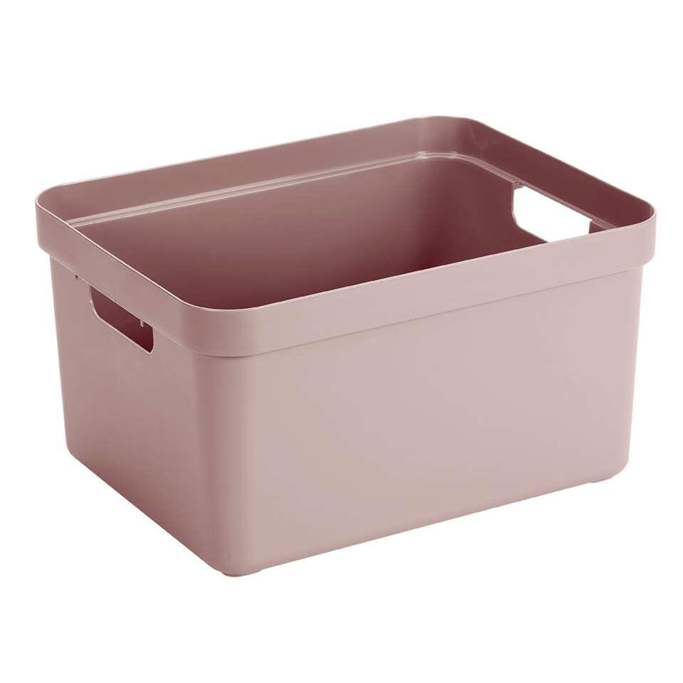 Sigma home box 32 liter - roze - 24,3x35,4x45,3 cm