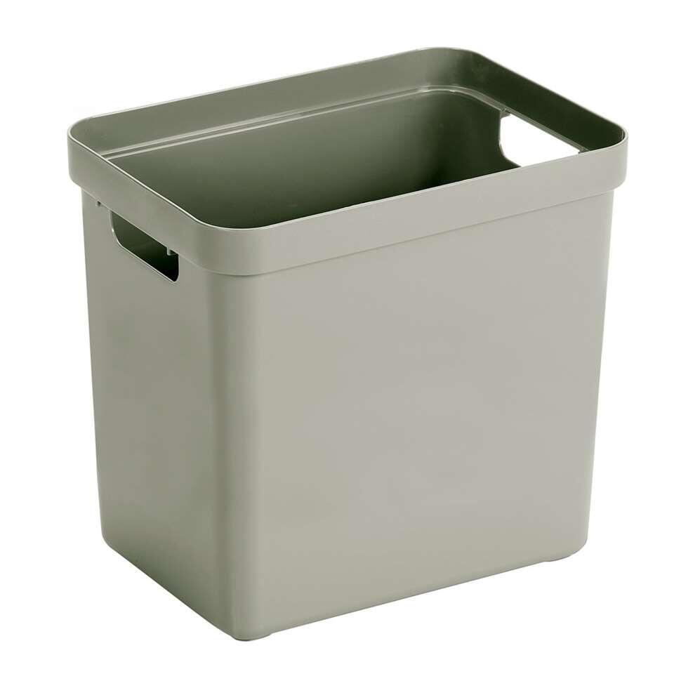 Sigma home box 25 liter - lichtgroen - 36,3x25x35 cm