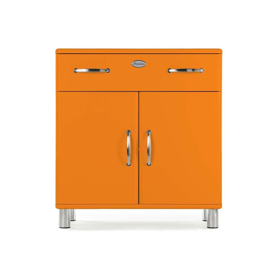 Tenzo kast Malibu - oranje - 92x86x41 cm