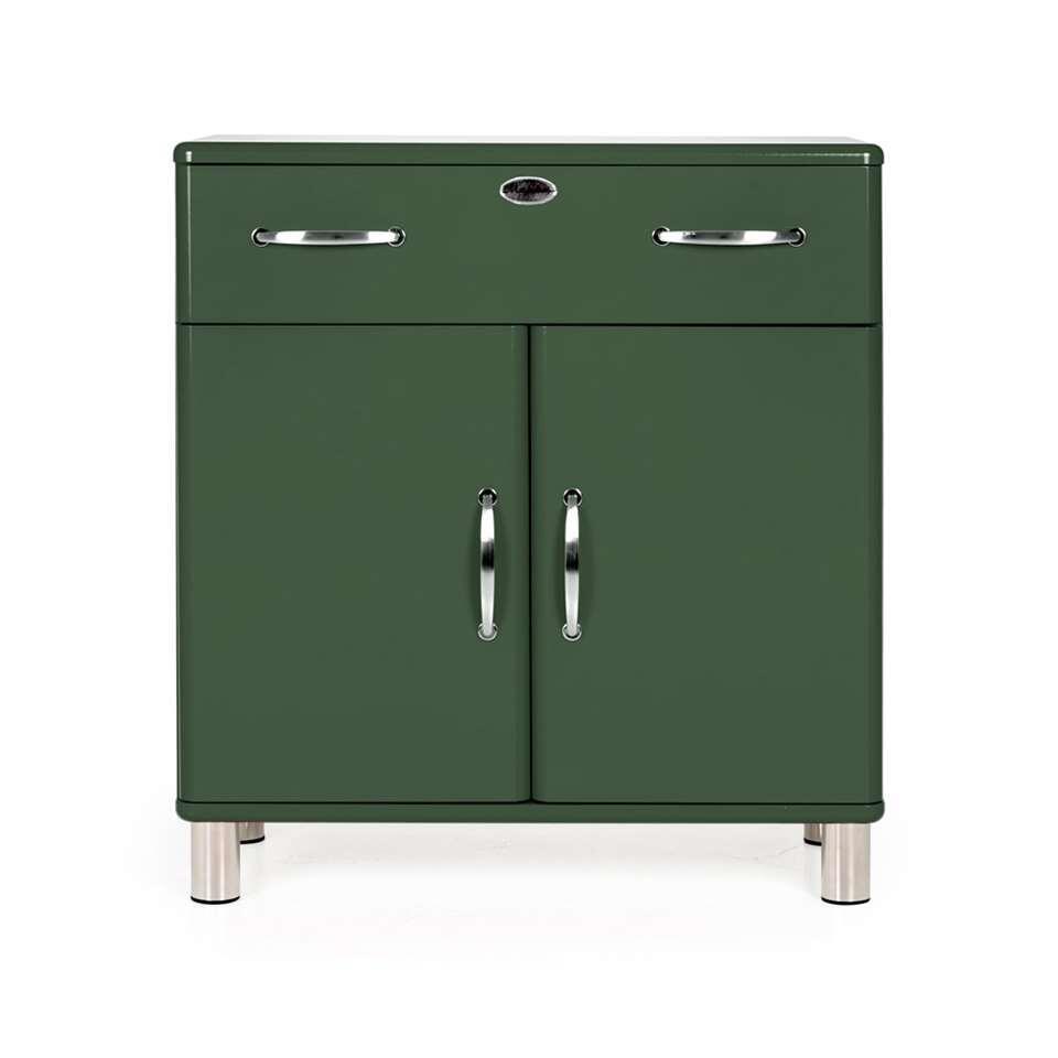 Tenzo kast Malibu - groen - 92x86x41 cm