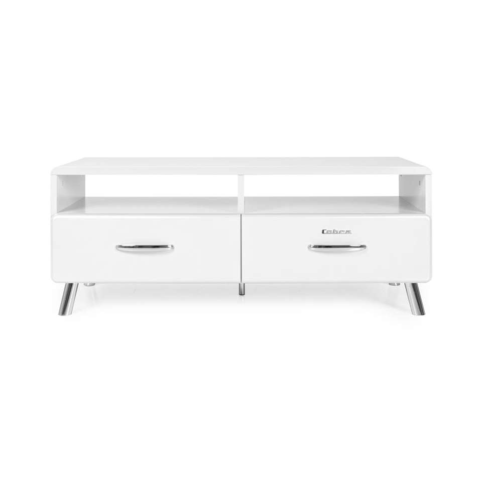 Tenzo tv-meubel Cobra - wit - 46x118x43 cm - Leen Bakker