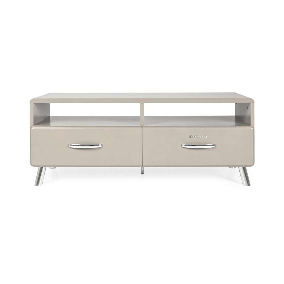 Tenzo tv-meubel Cobra - grijs - 46x118x43 cm - Leen Bakker