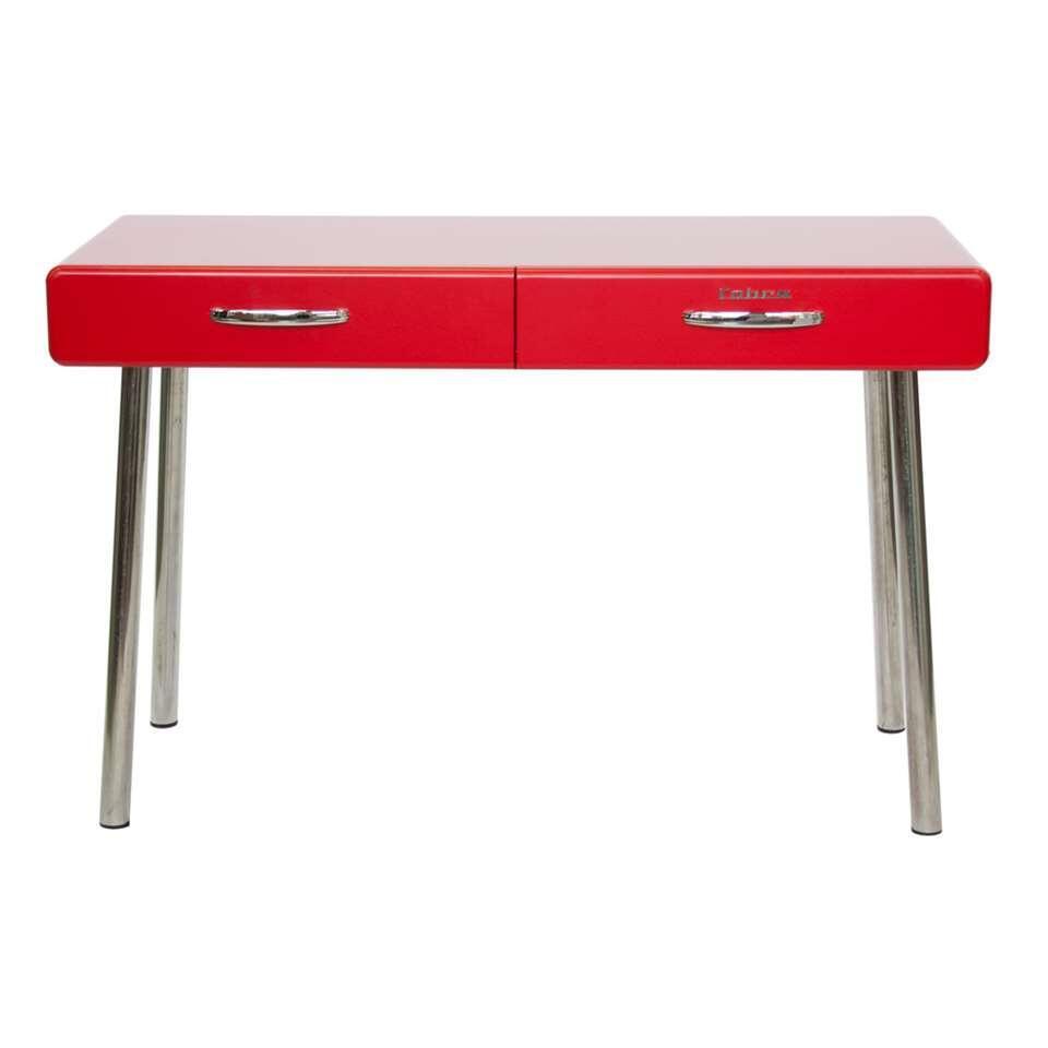 Tenzo bureau Cobra 2 lades - rood - 76,5x120x50 cm