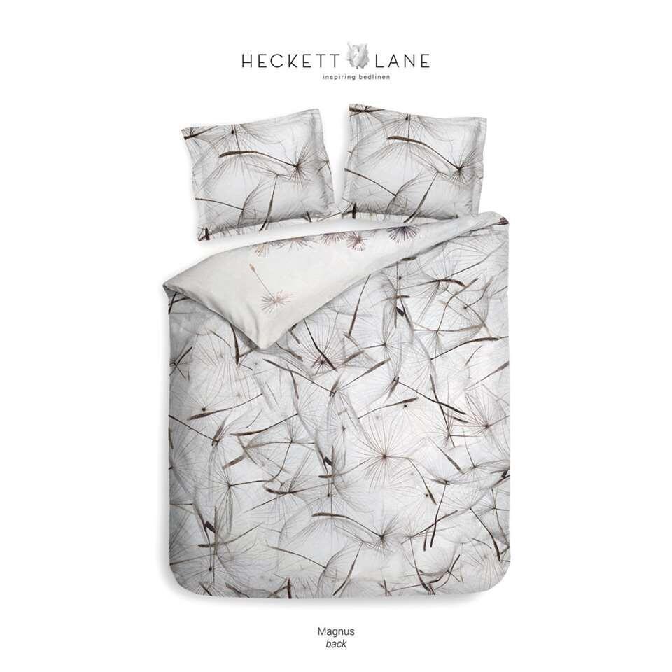 Heckett & Lane dekbedovertrek Magnus - wit - 200x220 cm - Leen Bakker