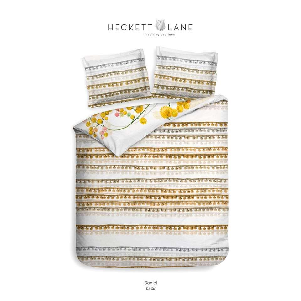 Heckett & Lane dekbedovertrek Daniel - multikleur - 140x220 cm