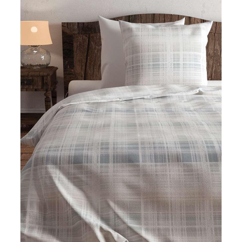 Heckett & Lane dekbedovertrek Izzy - blauw - 140x220 cm