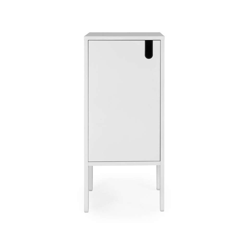 Tenzo wandkast Uno 1-deurs - wit - 89x40x40 cm