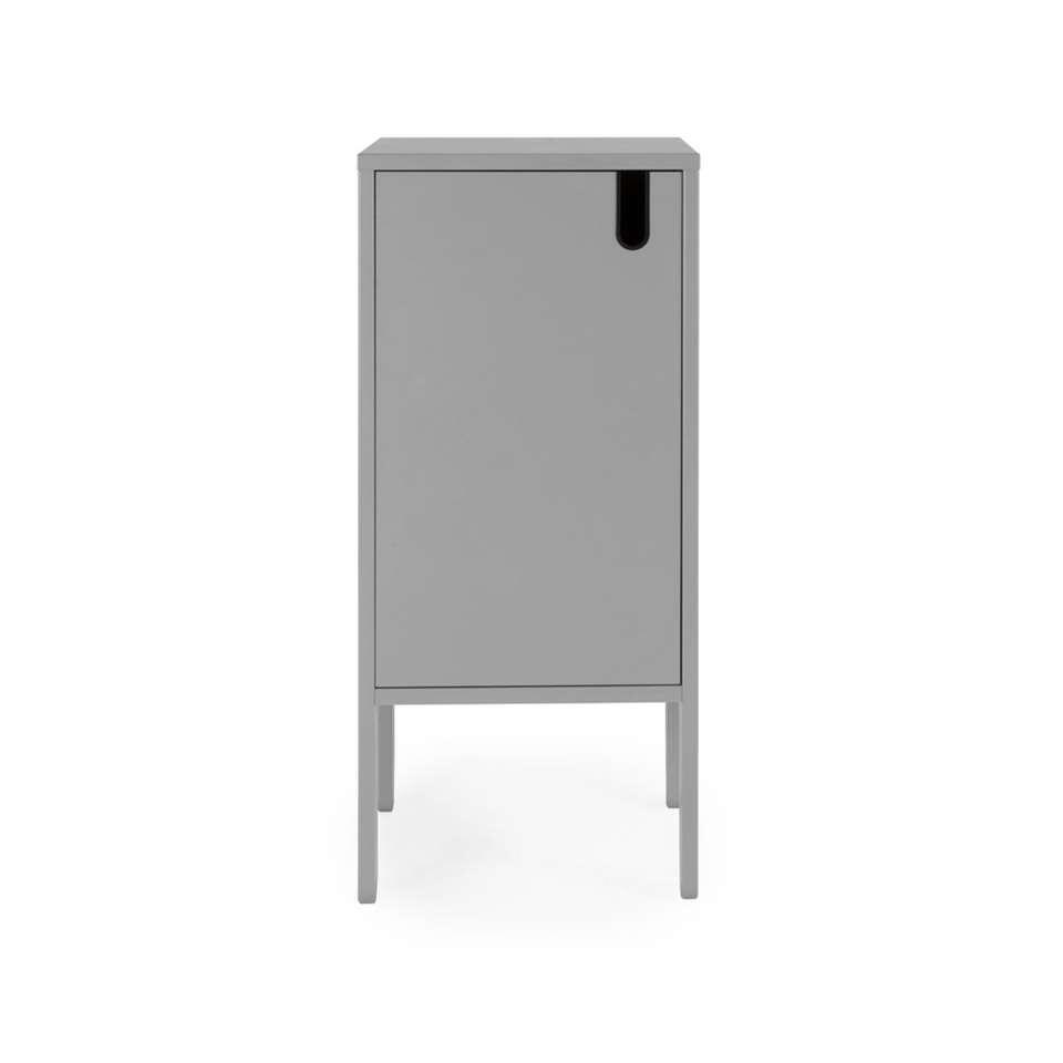 Tenzo wandkast Uno 1-deurs - grijs - 89x40x40 cm