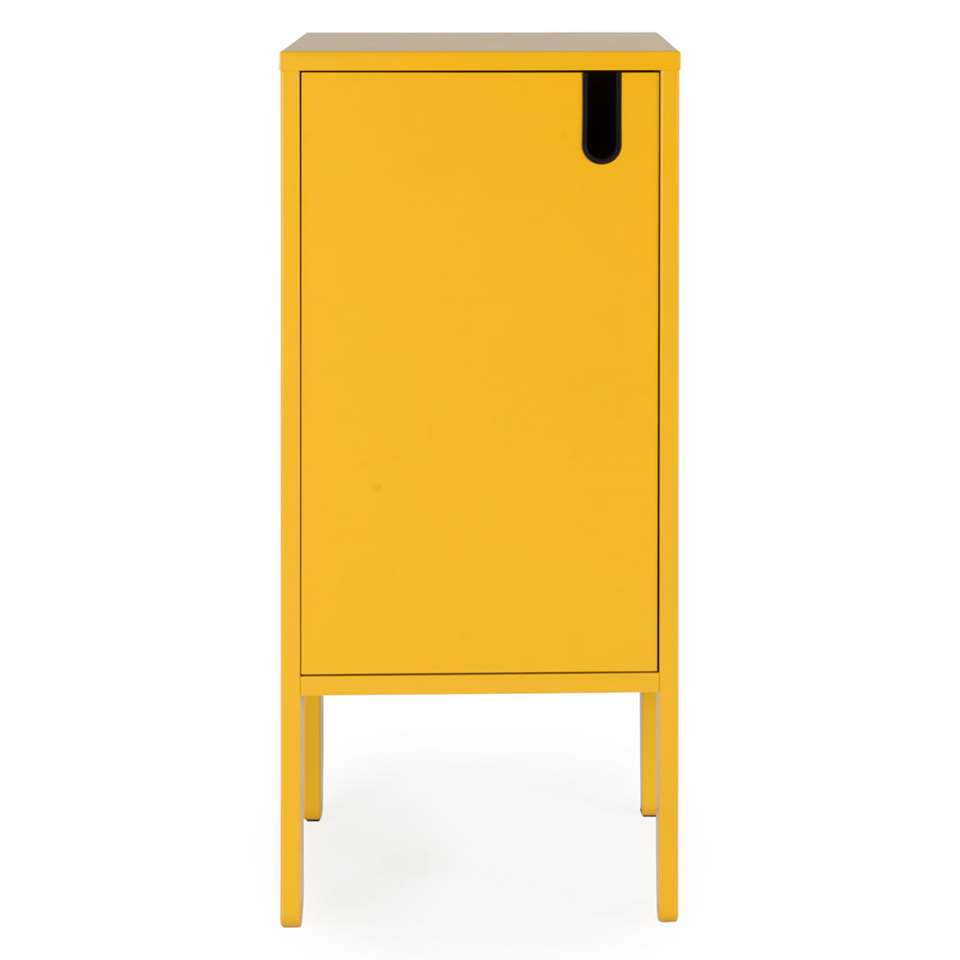 Tenzo wandkast Uno 1-deurs - mosterdgeel - 89x40x40 cm