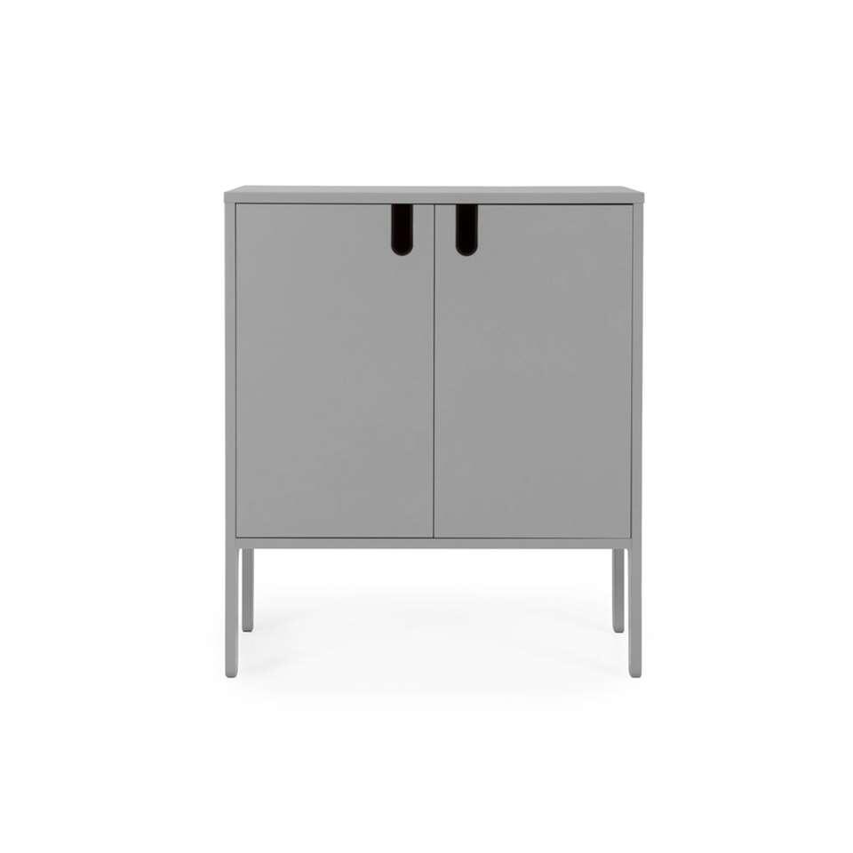 Tenzo wandkast Uno 2-deurs - grijs - 89x76x40 cm