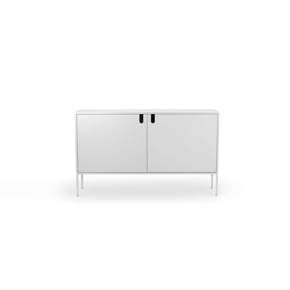 Tenzo dressoir Uno 2-deurs - wit - 89x148x40 cm