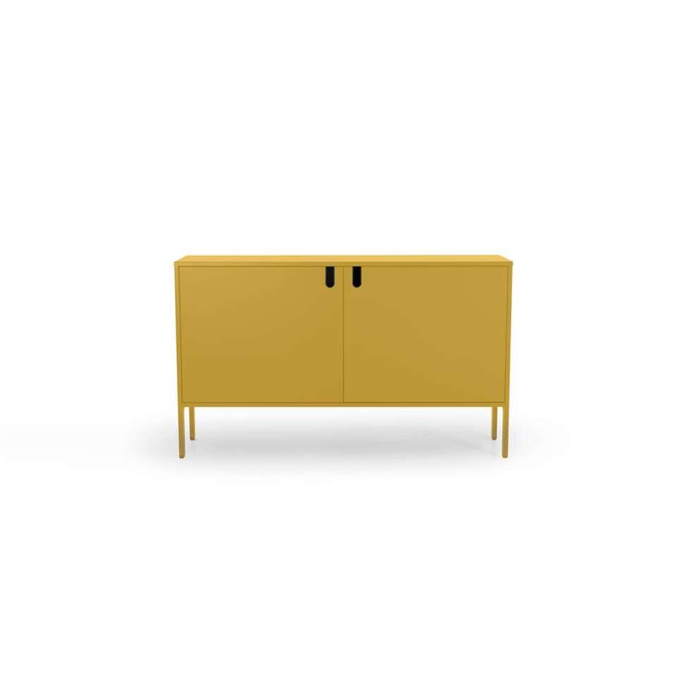 Tenzo dressoir Uno 2-deurs - mosterd - 89x148x40 cm
