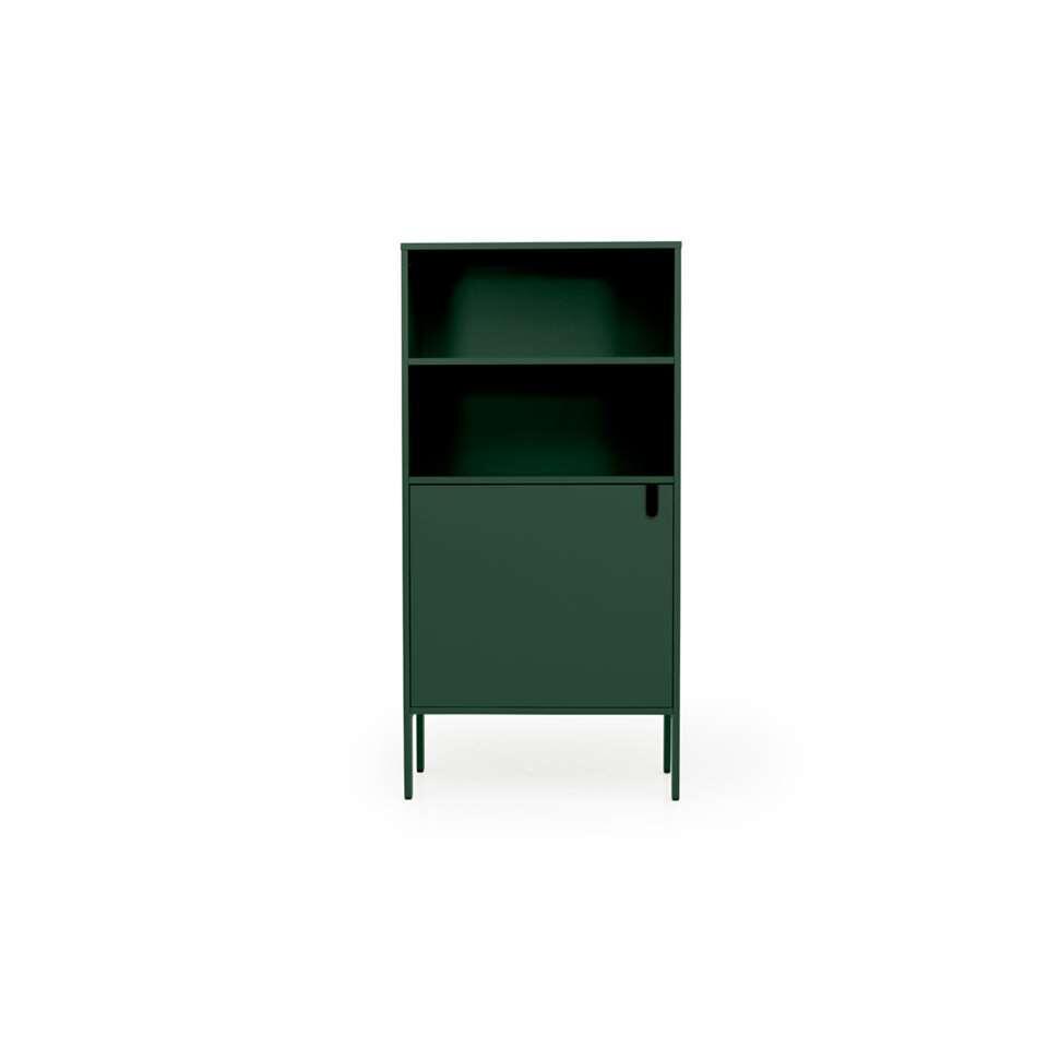 Tenzo wandkast Uno 1-deurs - groen - 152x76x40 cm