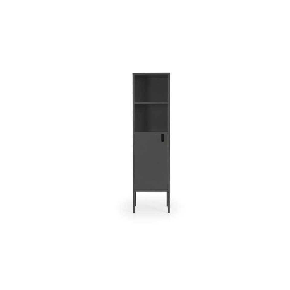 Tenzo wandkast Uno 1-deurs - grijs - 152x40x40 cm