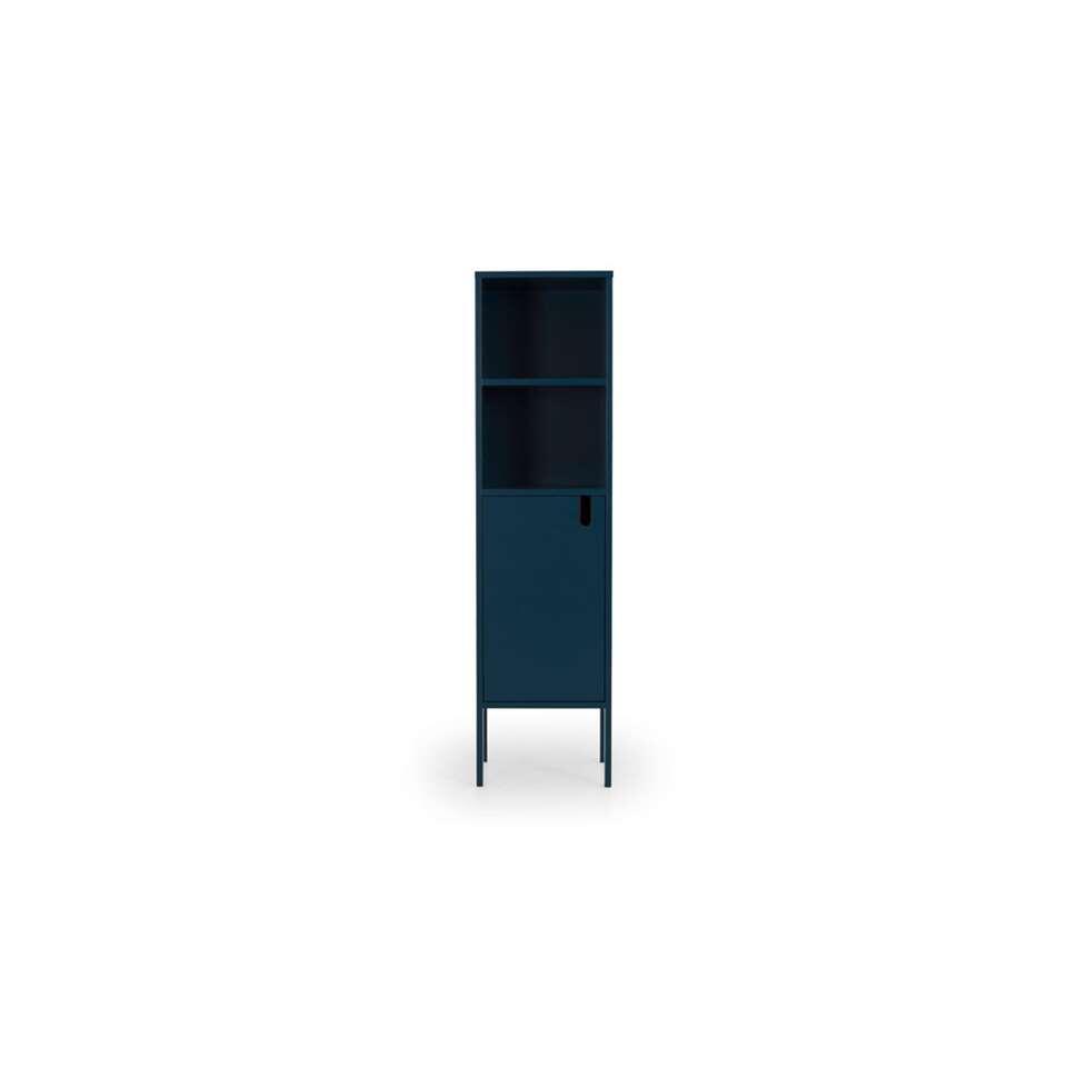 Tenzo wandkast Uno 1-deurs - petrol - 152x40x40 cm