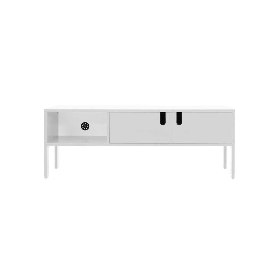 Tenzo tv-meubel Uno 2-deurs - wit - 50x137x40 cm