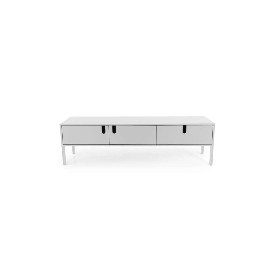 Tenzo tv-meubel Uno 2 deuren en 1 lade - wit - 50x171x46 cm