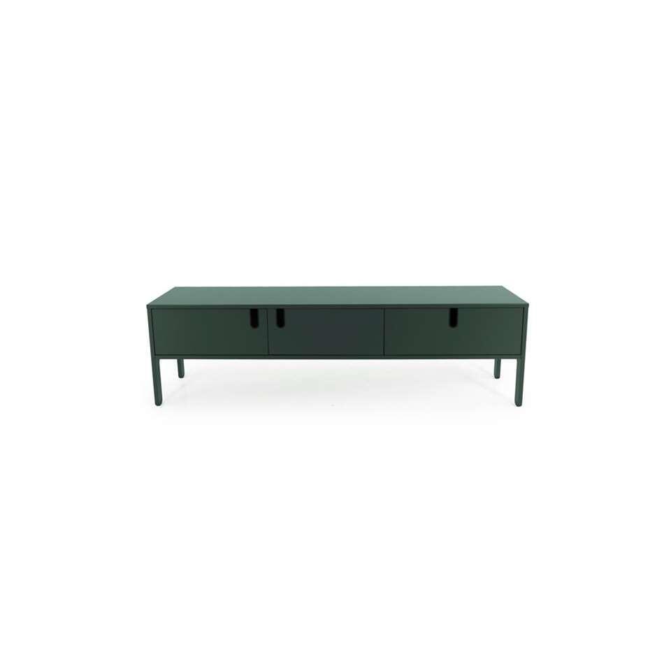 Tenzo tv-meubel Uno 2 deuren en 1 lade - groen - 50x171x46 cm