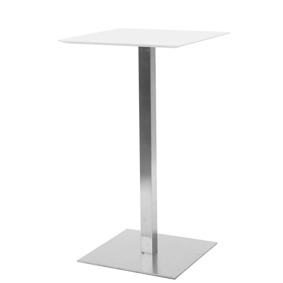 Tenzo table bar Chill - blanche - 105x60x60 cm