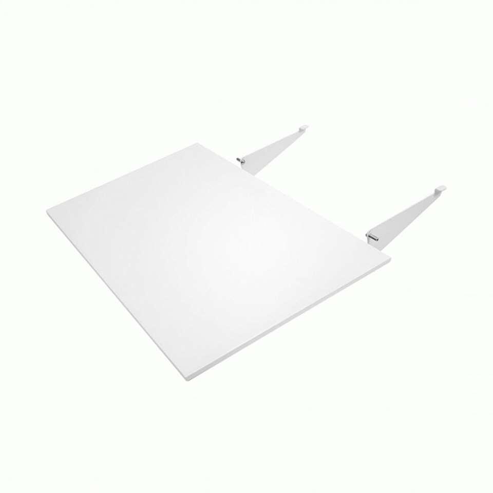 Tenzo verlengstuk eetkamertafel Profil - wit/eikenkleur - 95x55 cm