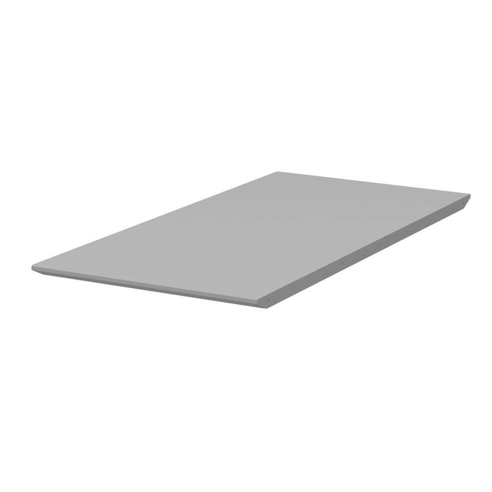 Tenzo verlengstuk eetkamertafel Bess - grijs - 45x95 cm