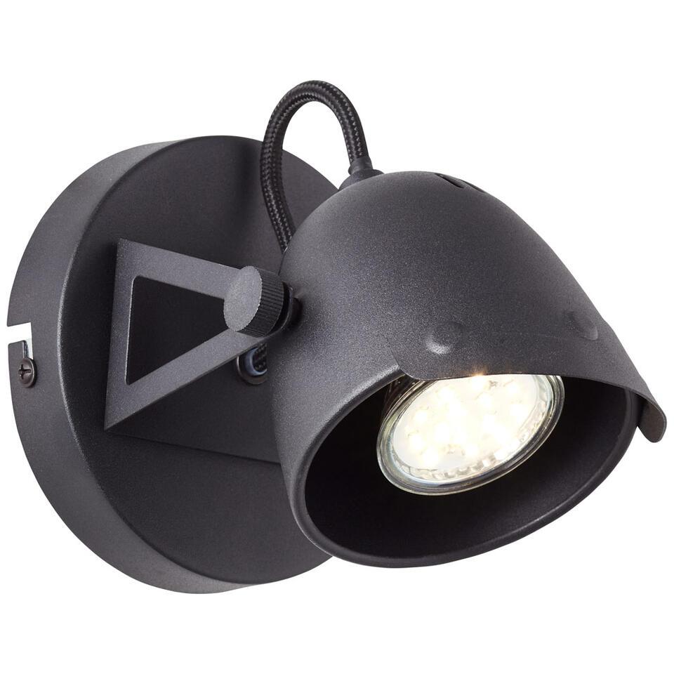 Brilliant wandspot Ka - zwart