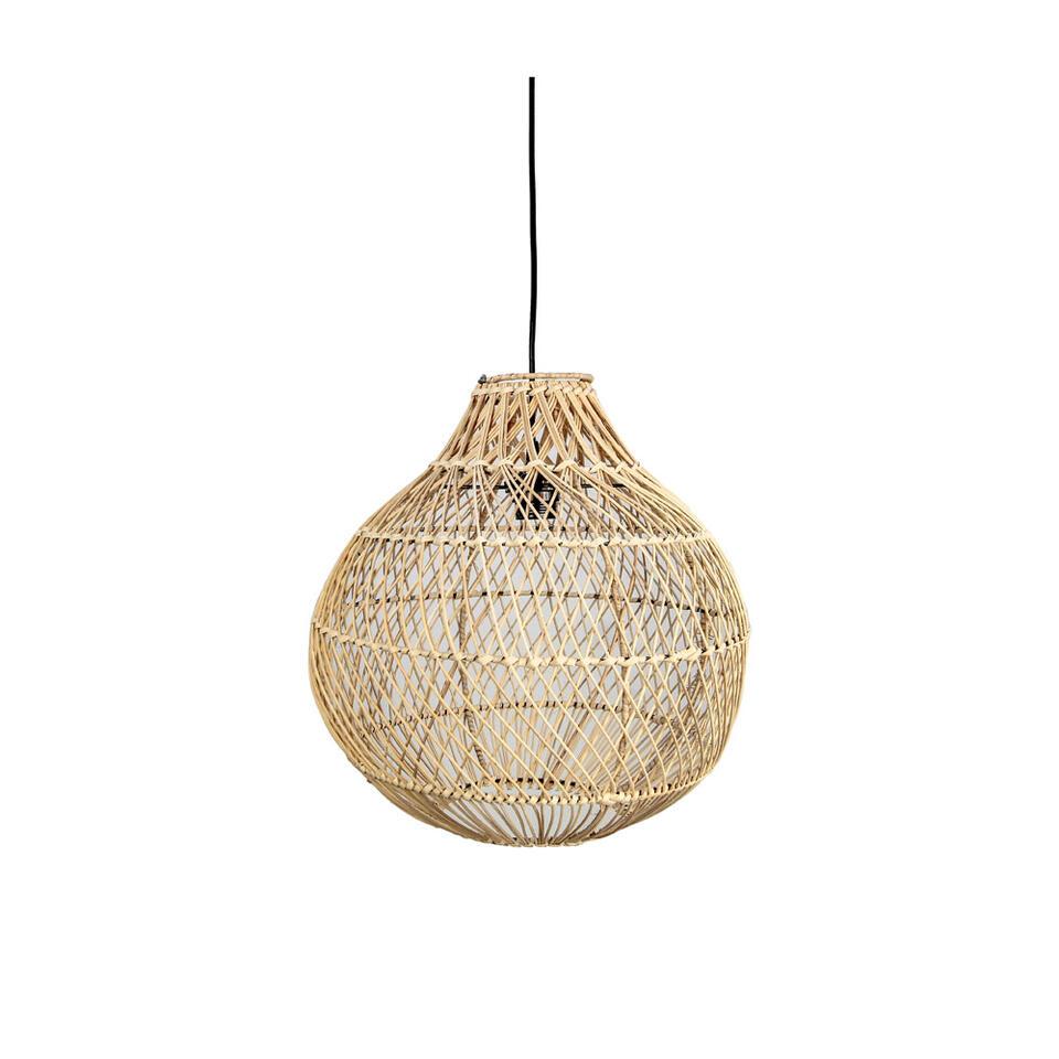 HSM Collection hanglamp Jeltje - naturel - 40 cm