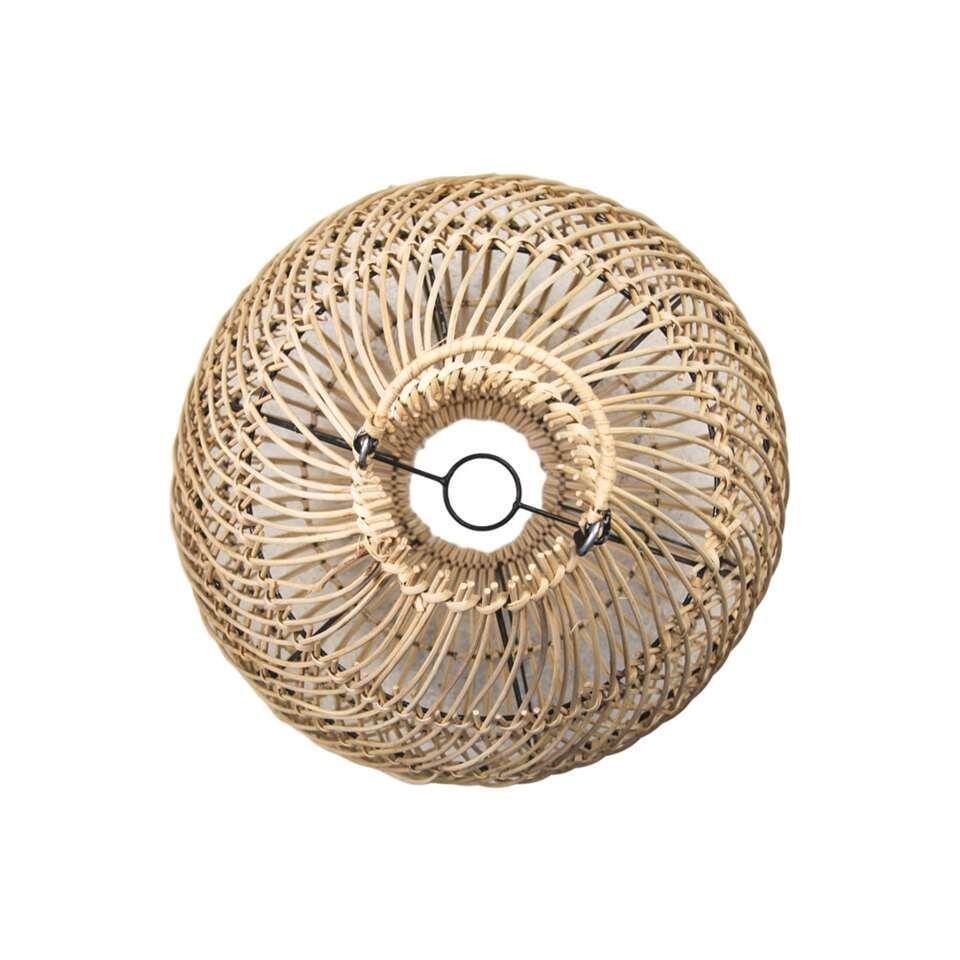 HSM Collection hanglamp Hannah – naturel – 50 cm – Leen Bakker