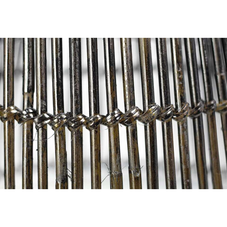 HSM Collection hanglamp Ajay - black wash - 52 cm