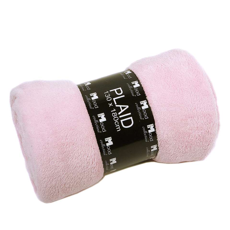 Plaid Edin - roze - 130x180 cm