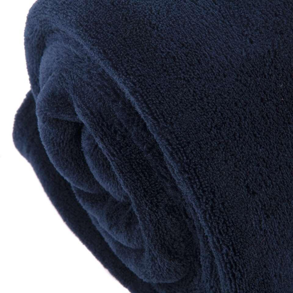 Plaid Edin - indigo - 130x180 cm